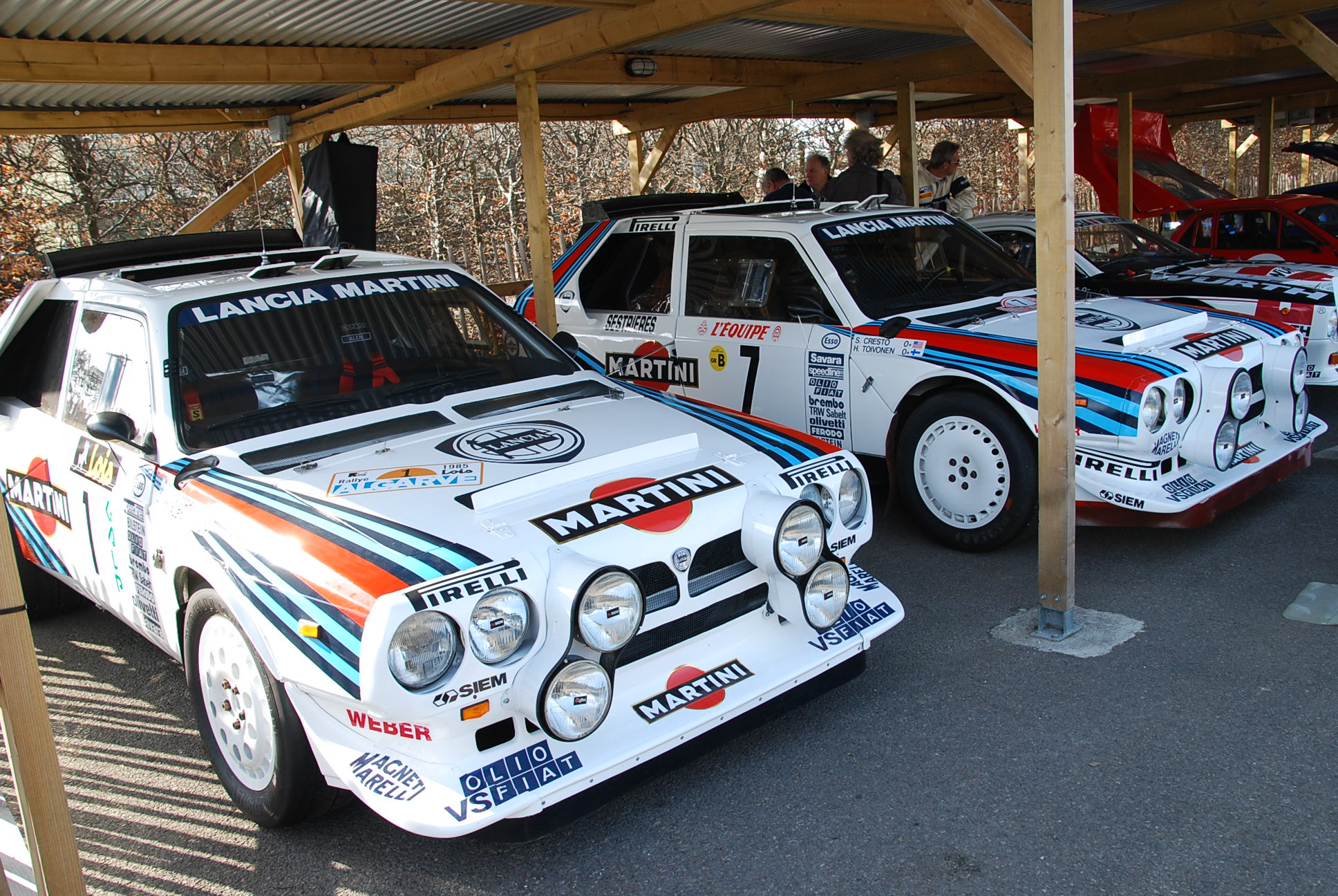 Group B Rally Cars Rule At Goodwood Paddock42 Rally Cars For Sale