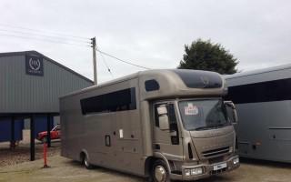 HR Multisport Car Transporter with Living 1