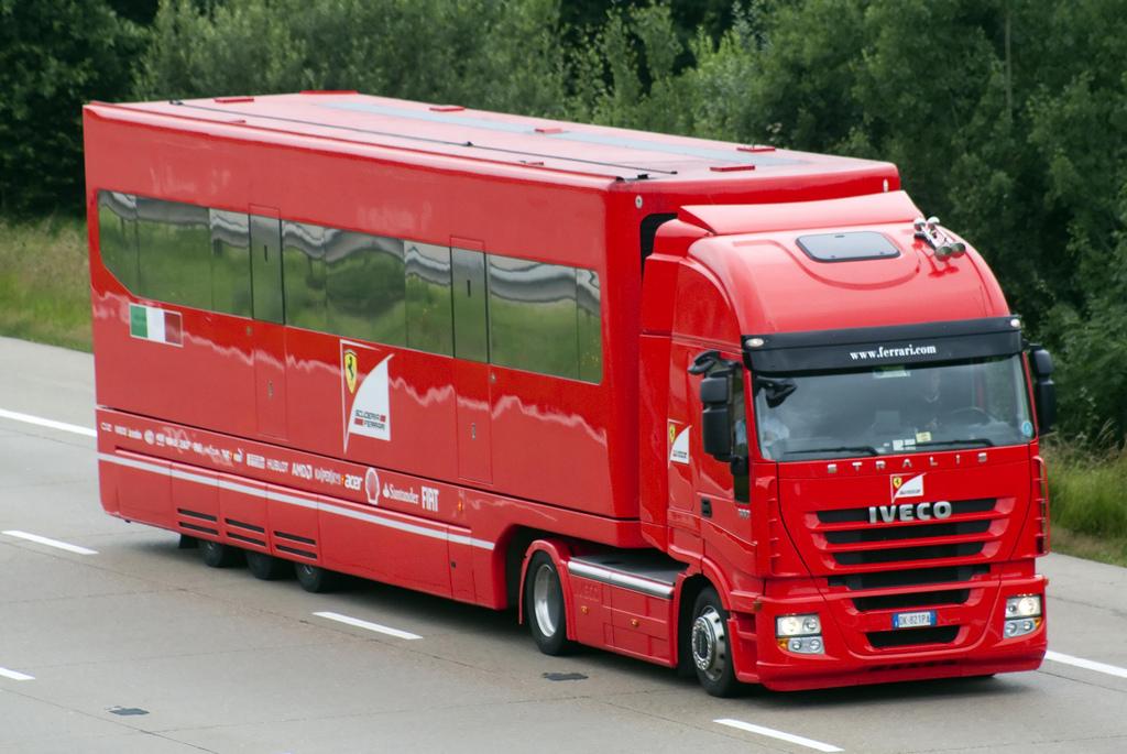 New alfa romeo truck