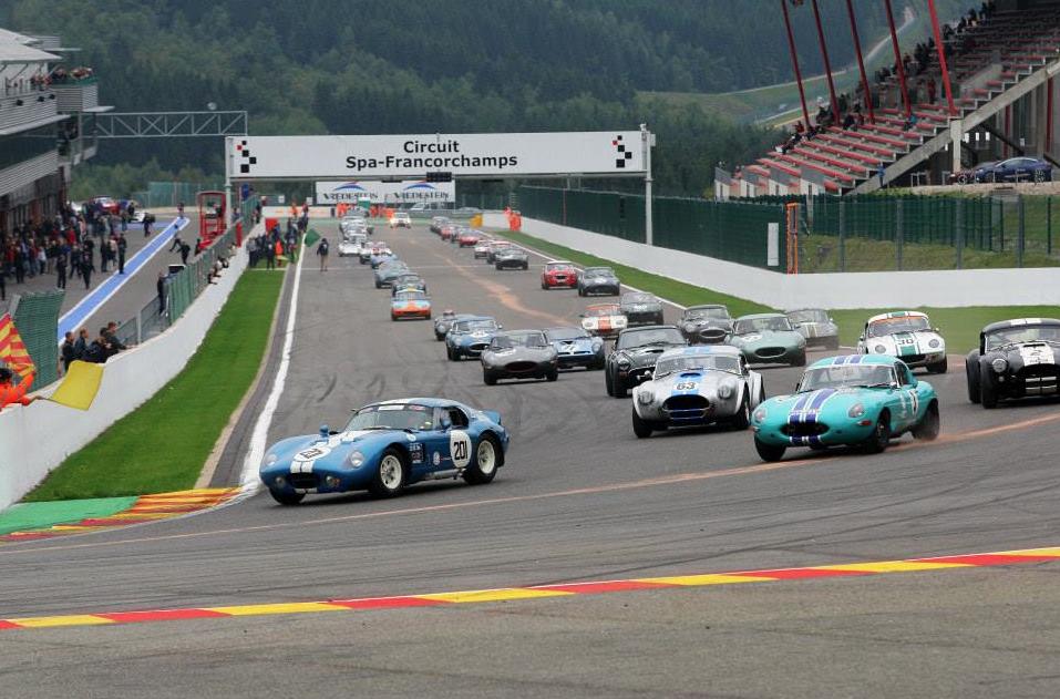 Masters Historic Racing Spa Results   Paddock 42