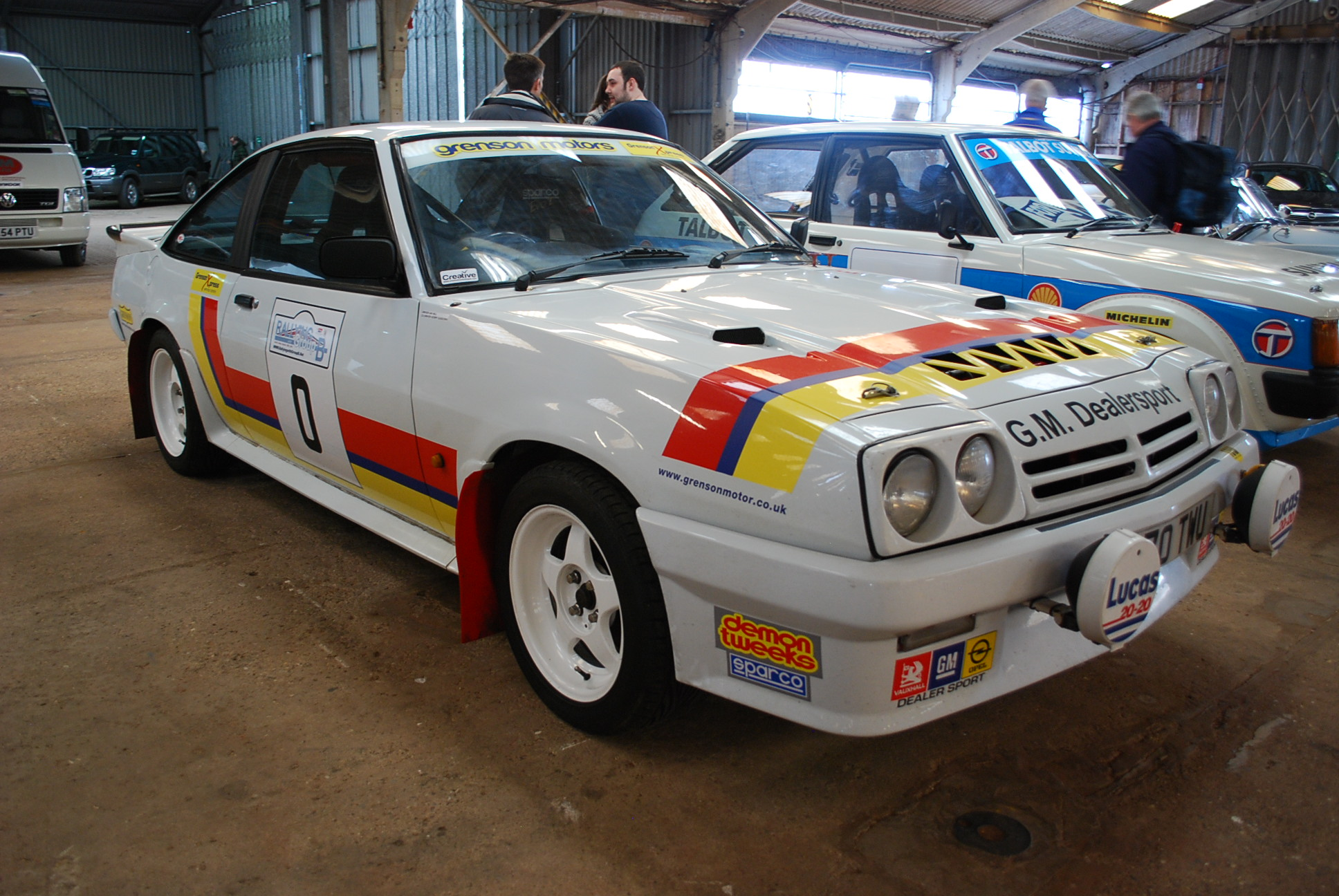 Historic Rally Cars Take Centre Stage At Race Retro Paddock