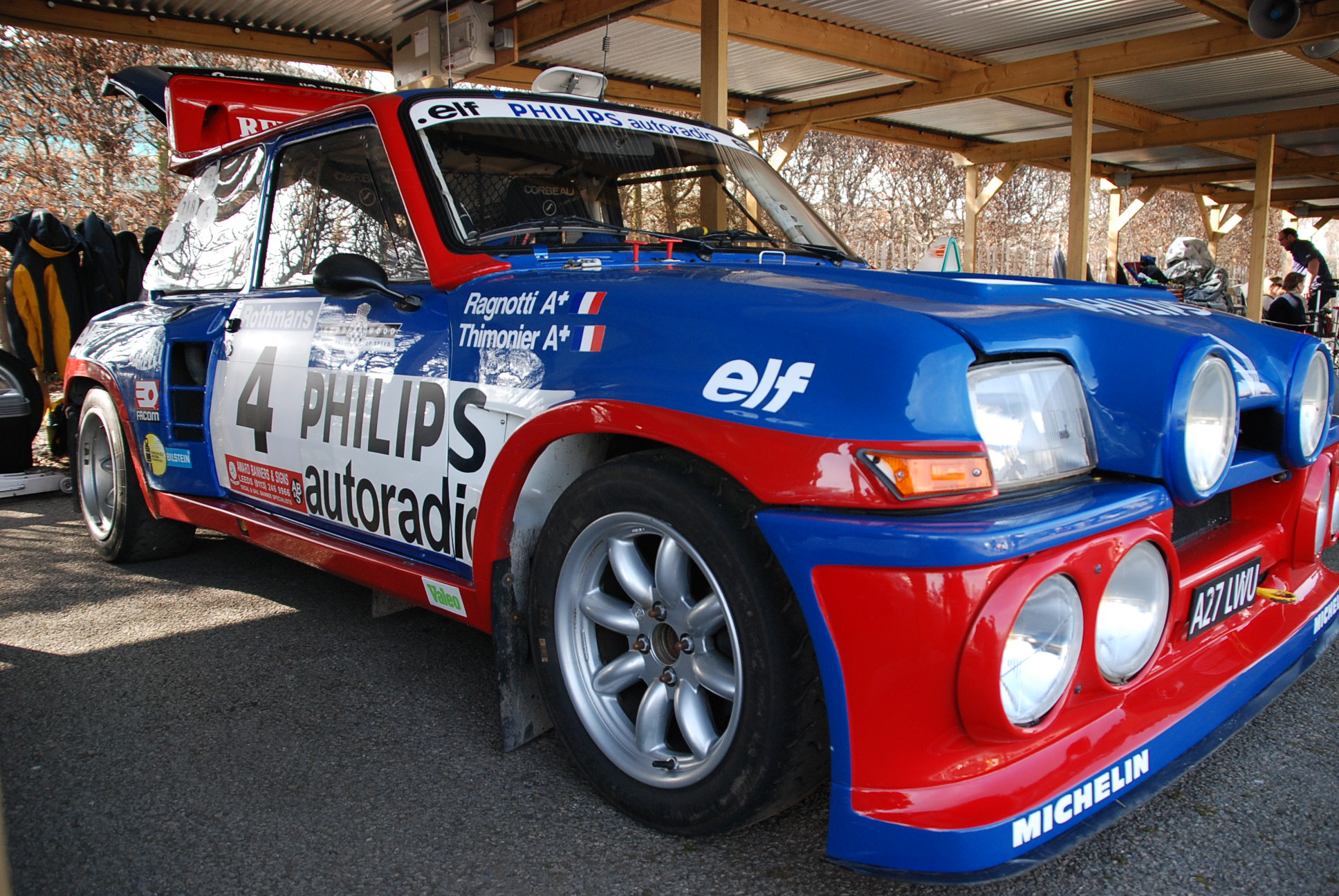 Group B Rally cars Paddock42.2   Paddock 42