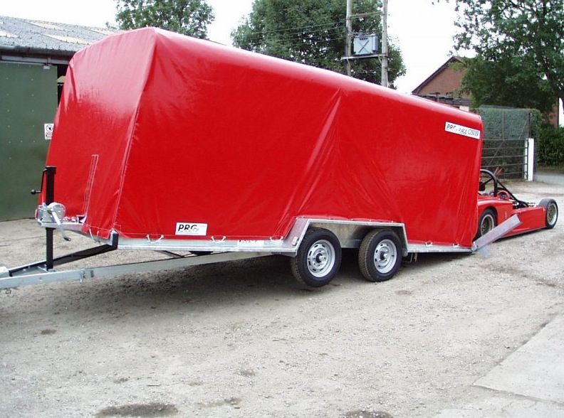 Car Trailer Winch >> PRG Trailers - PVC Trailer Covers | Paddock 42