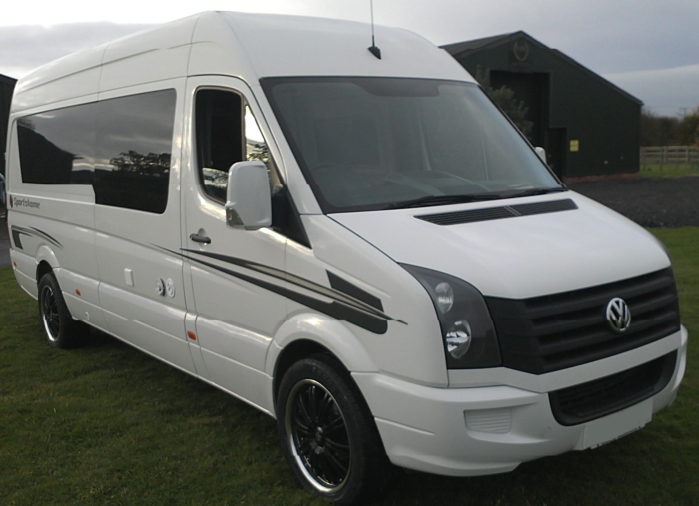 vw crafter race van by hr multisport paddock 42. Black Bedroom Furniture Sets. Home Design Ideas