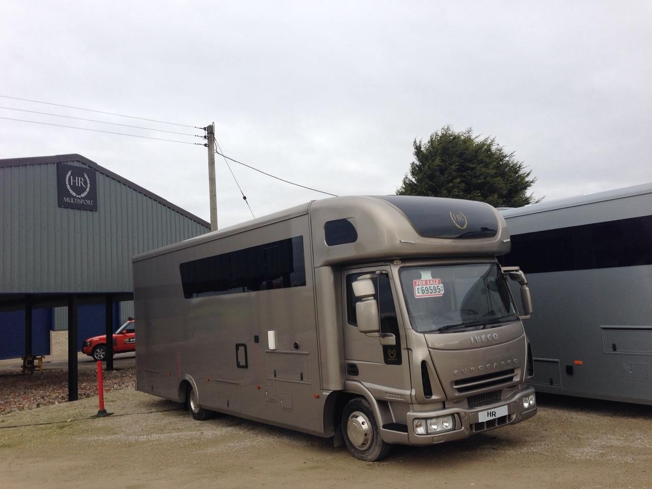 Transporter motorhome with tail lift stunning 2 3 berth for Rv with car garage for sale