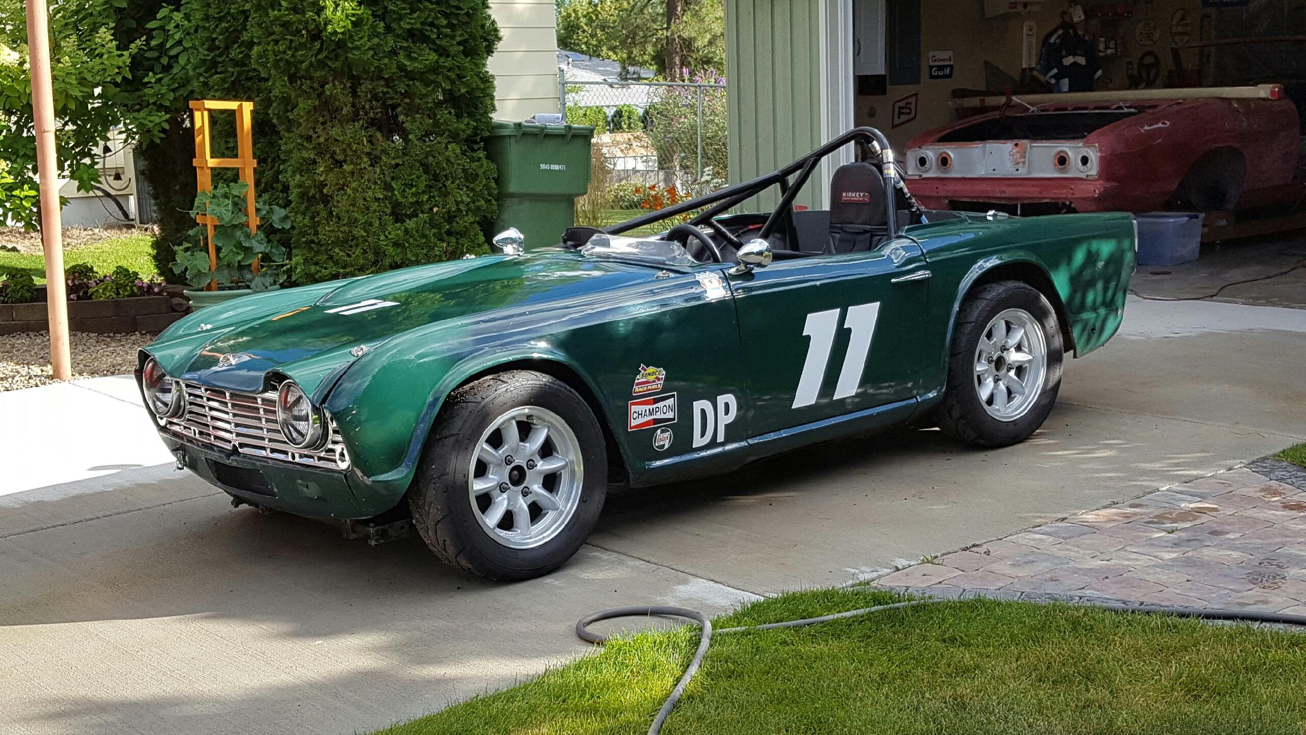 Triumph Tr4a 1967 Irs Paddock 42