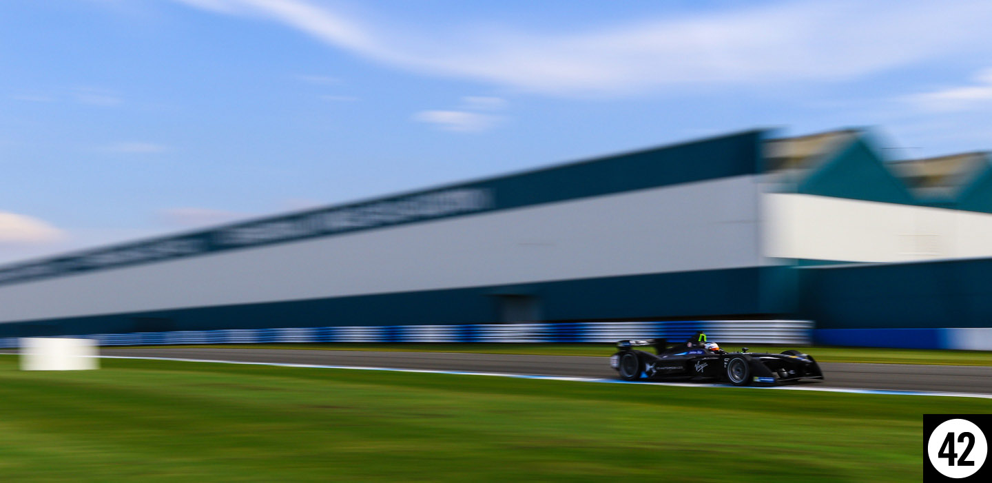 Daytona Dog Track >> Formula-E pre season testing 23 & 25th August | Paddock 42