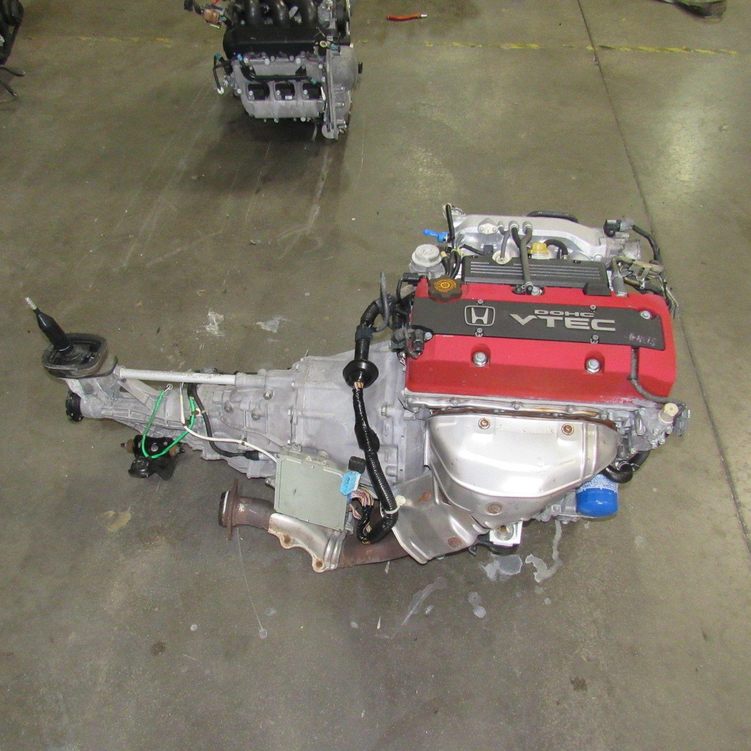 JDM Honda F20C VTEC Engine And 6 Speed Transmission S2000