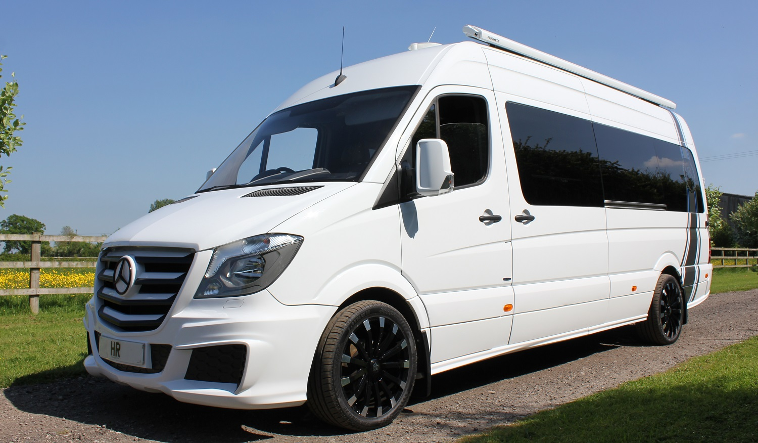 Mercedes Sprinter 314 Alpine Sportshome Awning Alloys Garage