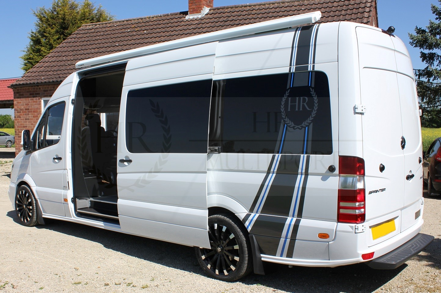 mercedes sprinter 314 alpine sportshome  awning  alloys  u0026 garage